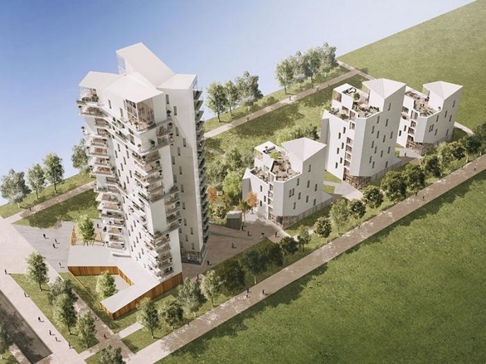 Appartements neufs Villejean - Beauregard référence 3933 : aperçu n°3