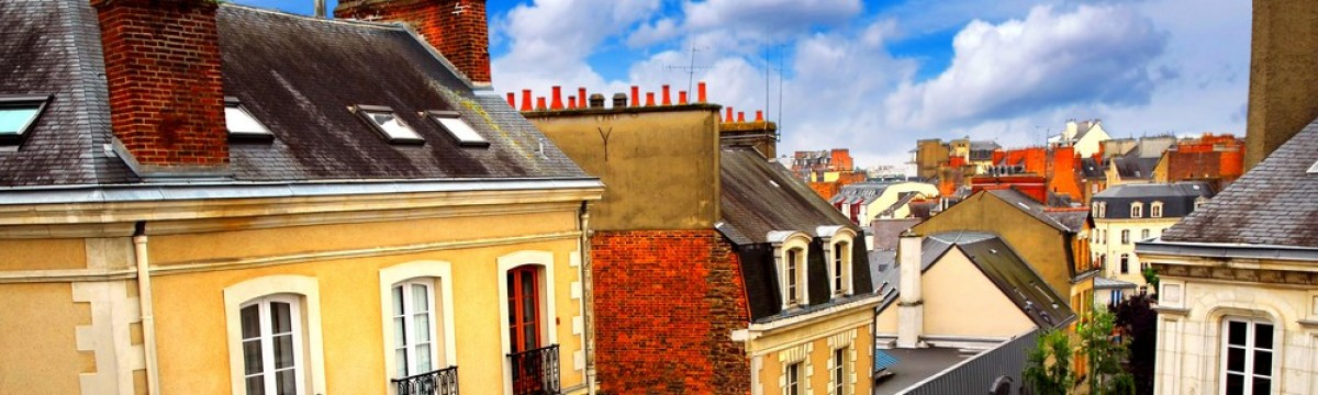 loi pinel rennes - vue sur les toits de Rennes