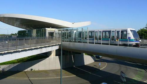 Métro de Rennes, station de la Poterie