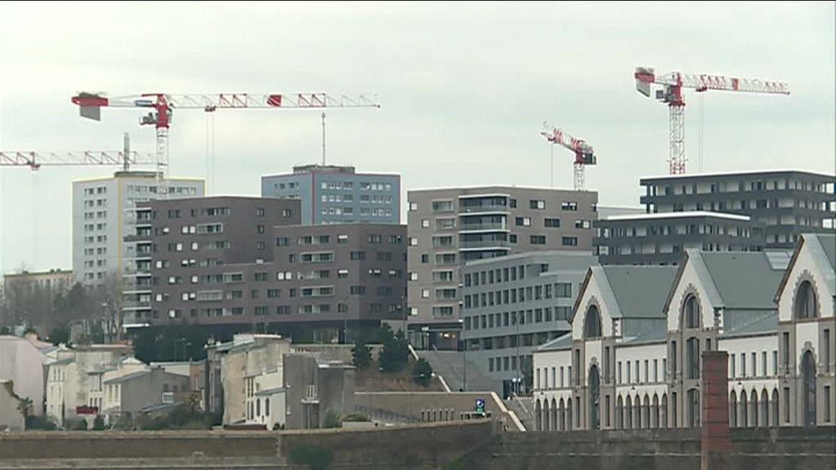 À Brest, de nombreux projets de construction ont dû s'interrompre du fait de la sortie du dispositif Pinel