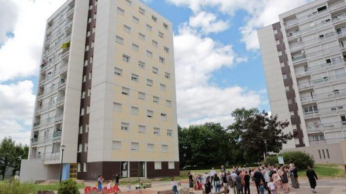 La place du Banat à Rennes