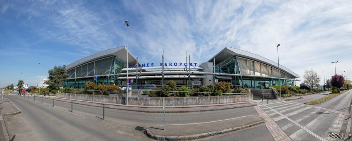 L'aéroport Rennes Bretagne, à Saint-Jacques-de-la-Lande