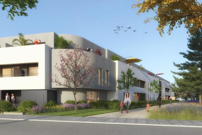 Appartements neufs Vezin-le-Coquet référence 4172 : aperçu n°2
