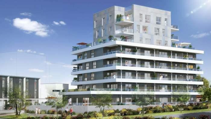 Appartements neufs Bourg-l'Évesque - la Touche - Moulin du Comte référence 4173 : aperçu n°0