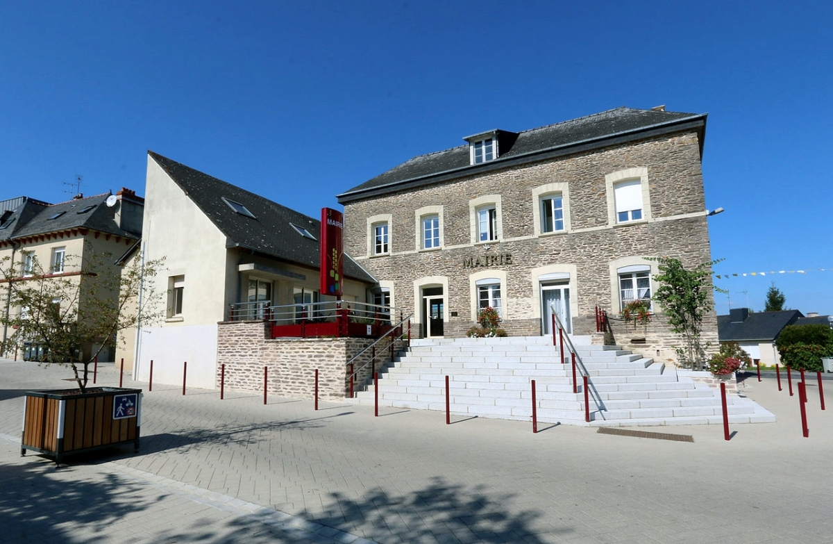 Mairie de Orgères