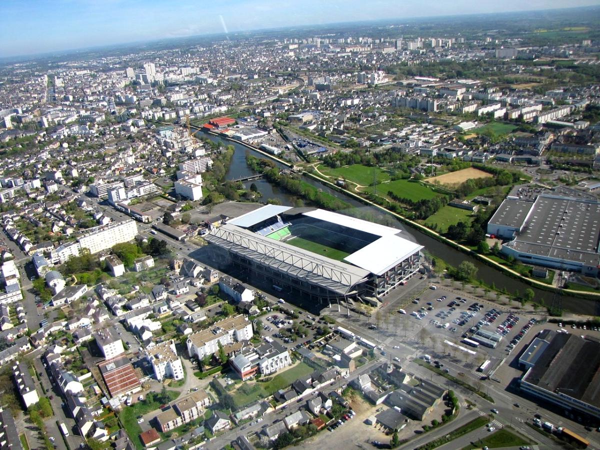 Rennes – Vue aérienne du Roazhon Park