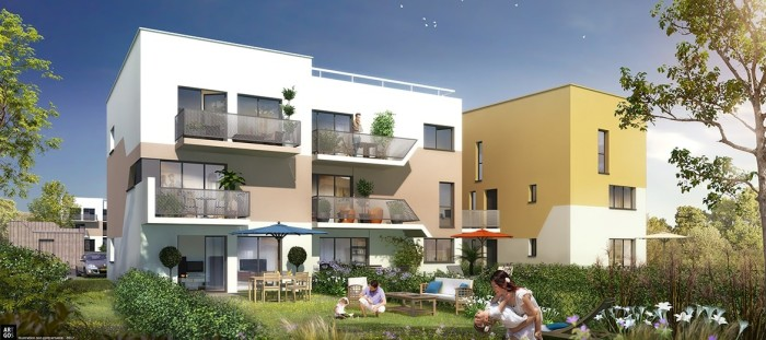 Appartements neufs Vern-sur-Seiche référence 4416 : aperçu n°0