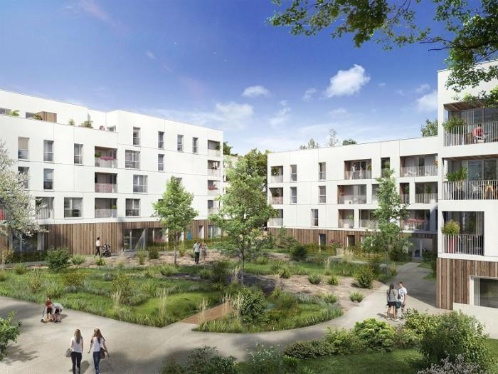 Appartements neufs Saint-Jacques-de-la-Lande référence 4616 : aperçu n°0