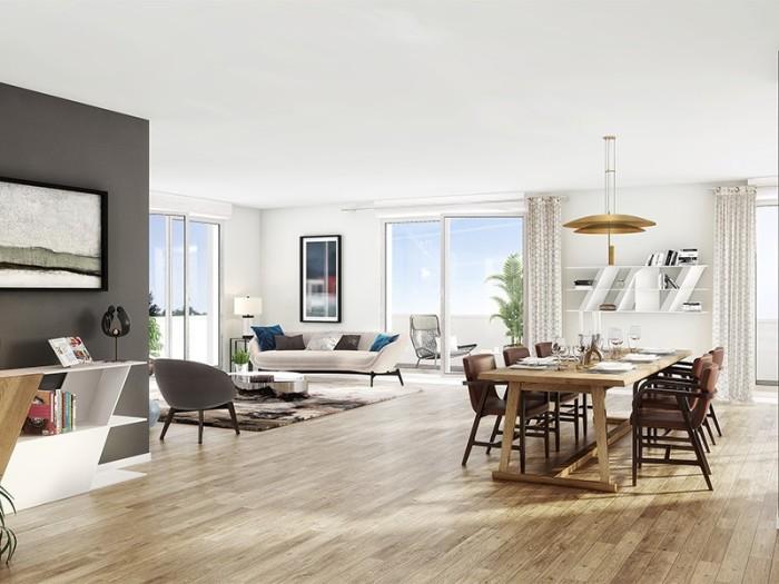 Appartements neufs Saint-Jacques-de-la-Lande référence 4616 : aperçu n°2