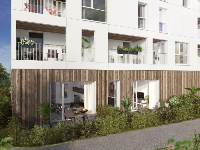 Appartements neufs Saint-Jacques-de-la-Lande référence 4616 : aperçu n°3