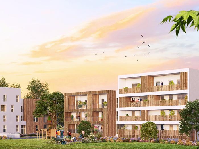 Appartements neufs Chartres-de-Bretagne référence 4617 : aperçu n°0