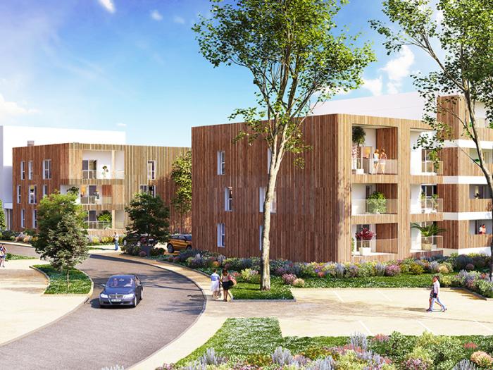 Appartements neufs Chartres-de-Bretagne référence 4617 : aperçu n°2