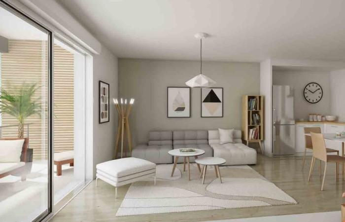 Appartements neufs Chartres-de-Bretagne référence 4617 : aperçu n°1