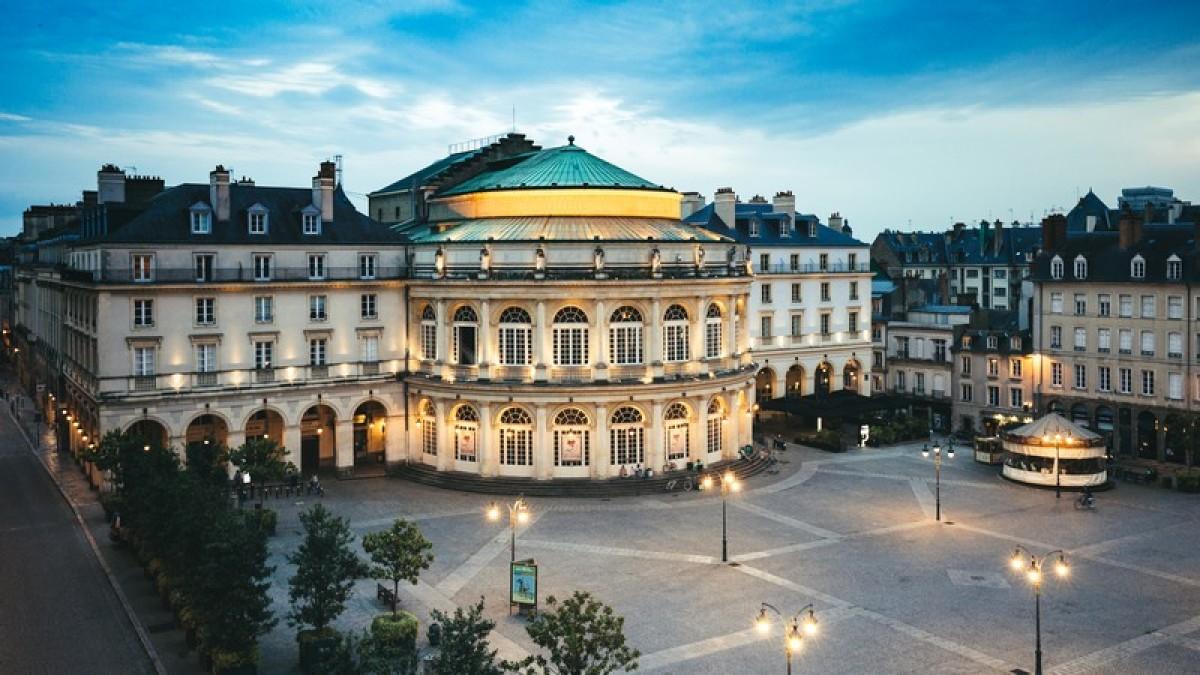 Le grand opéra de Rennes