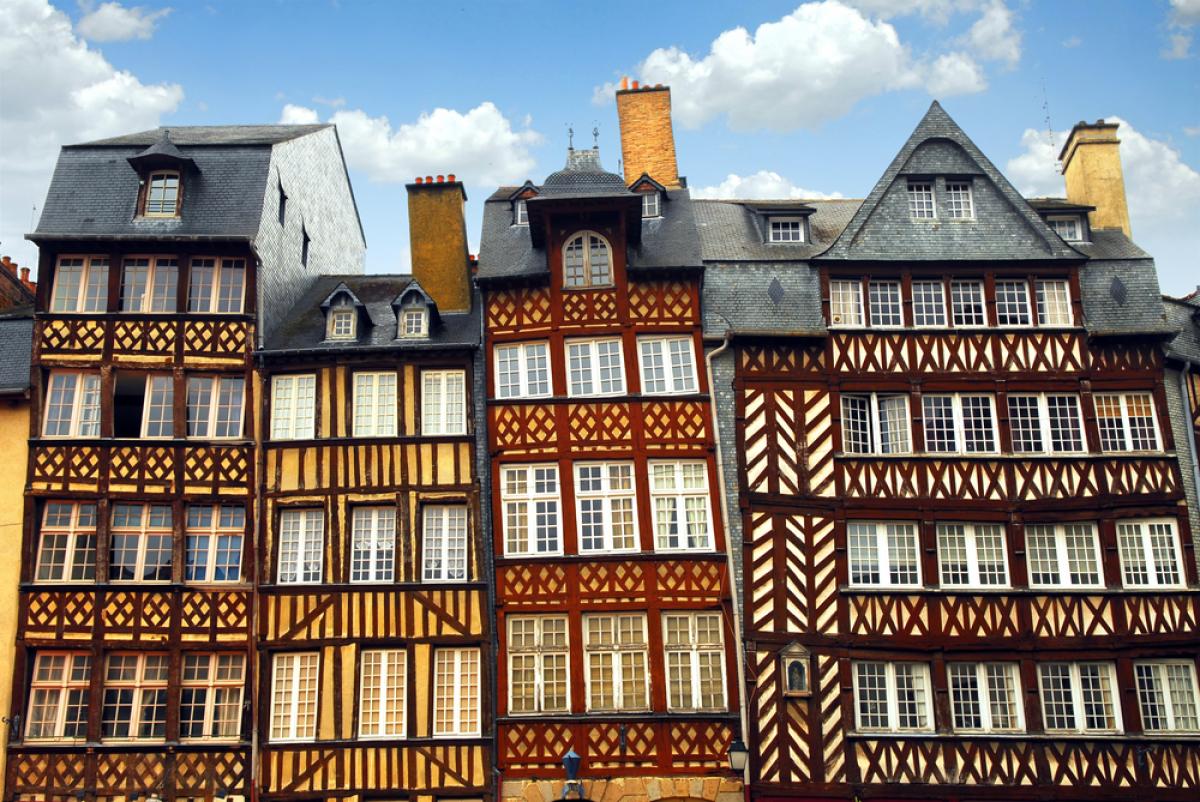 Investissement immobilier à Rennes - Des maisons médiévales typiques de Rennes