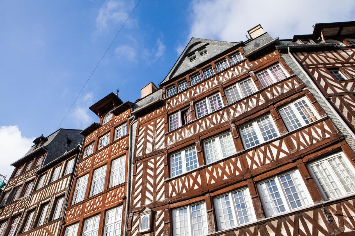Investissement immobilier à Rennes - Architecture typique de la ville de Rennes