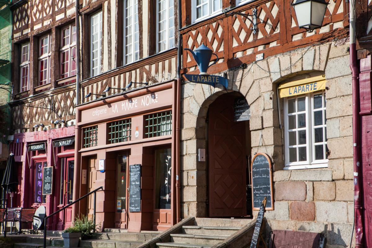 Architecture typique de Rennes