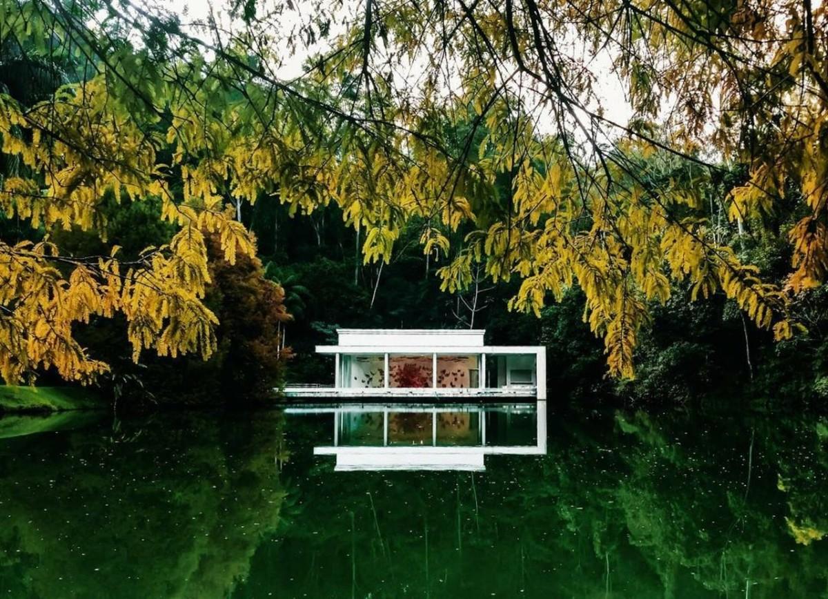 Maison sur l'eau au Brésilneuf