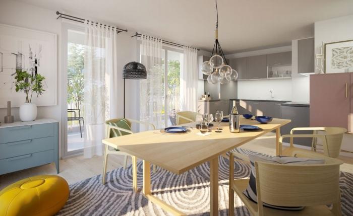 Appartements neufs Saint-Jacques-de-la-Lande référence 4893 : aperçu n°1
