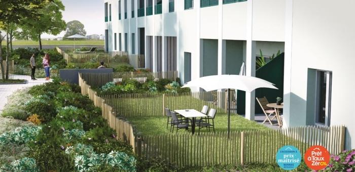 Appartements neufs Vezin-le-Coquet référence 4894 : aperçu n°3
