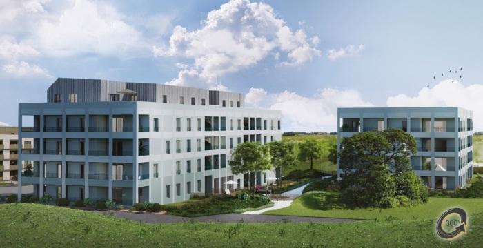 Appartements neufs Vezin-le-Coquet référence 4894 : aperçu n°4