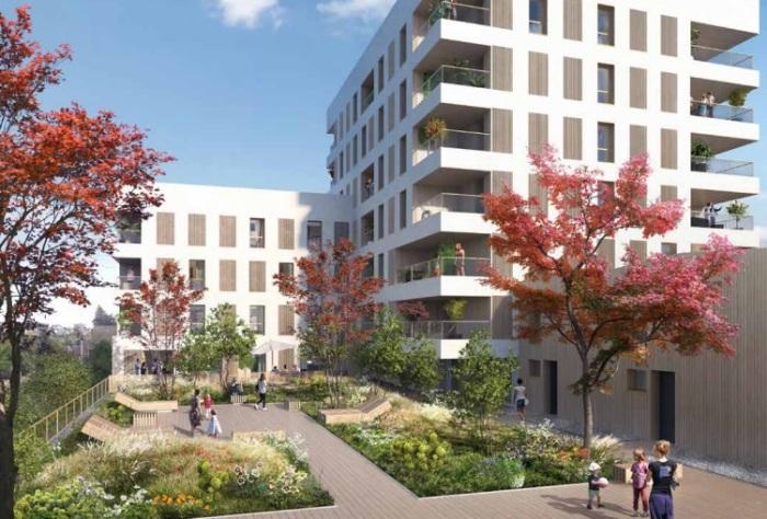 Appartements neufs Jeanne d'Arc - Longs-Champs - Atalante Beaulieu référence 4895 : aperçu n°0