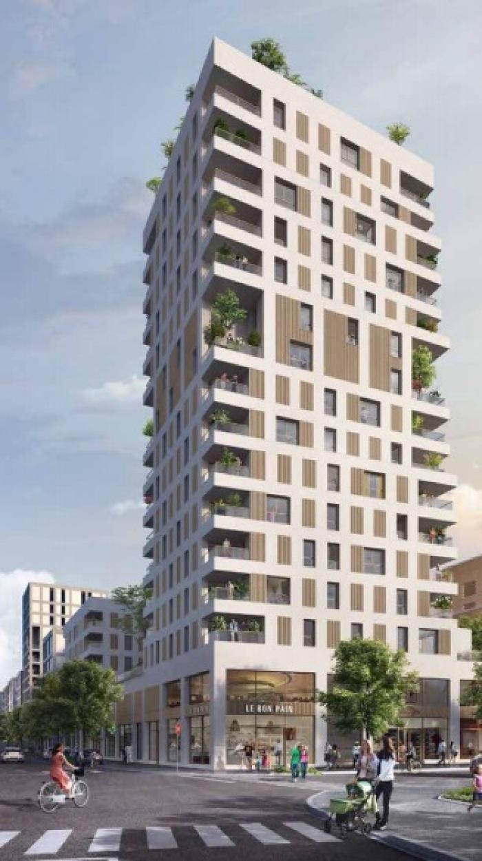 Appartements neufs Jeanne d'Arc - Longs-Champs - Atalante Beaulieu référence 4895 : aperçu n°1