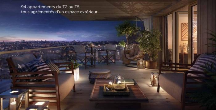 Appartements neufs Jeanne d'Arc - Longs-Champs - Atalante Beaulieu référence 4895 : aperçu n°3