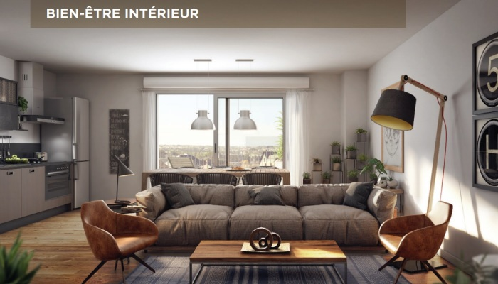 Appartements neufs Jeanne d'Arc - Longs-Champs - Atalante Beaulieu référence 4896 : aperçu n°1