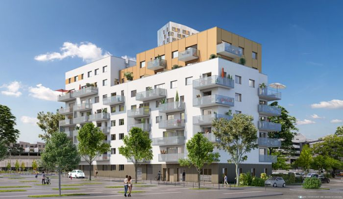 Appartements neufs Villejean - Beauregard référence 4897 : aperçu n°0