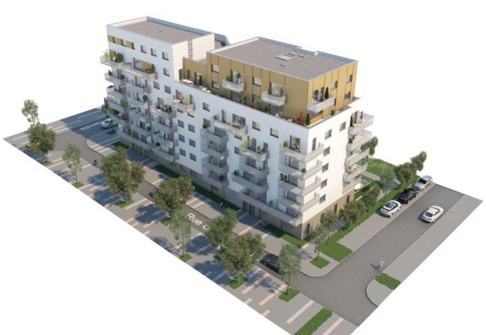 Appartements neufs Villejean - Beauregard référence 4897 : aperçu n°2