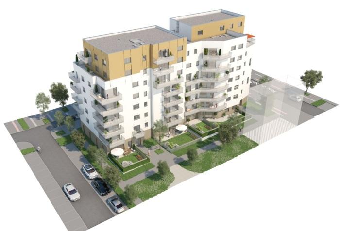 Appartements neufs Villejean - Beauregard référence 4897 : aperçu n°3