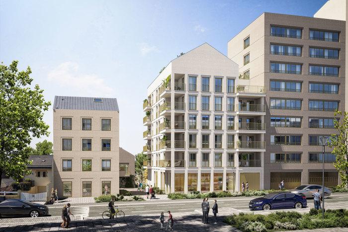 Maisons neuves et appartements neufs Sud-Gare référence 5127 : aperçu n°0