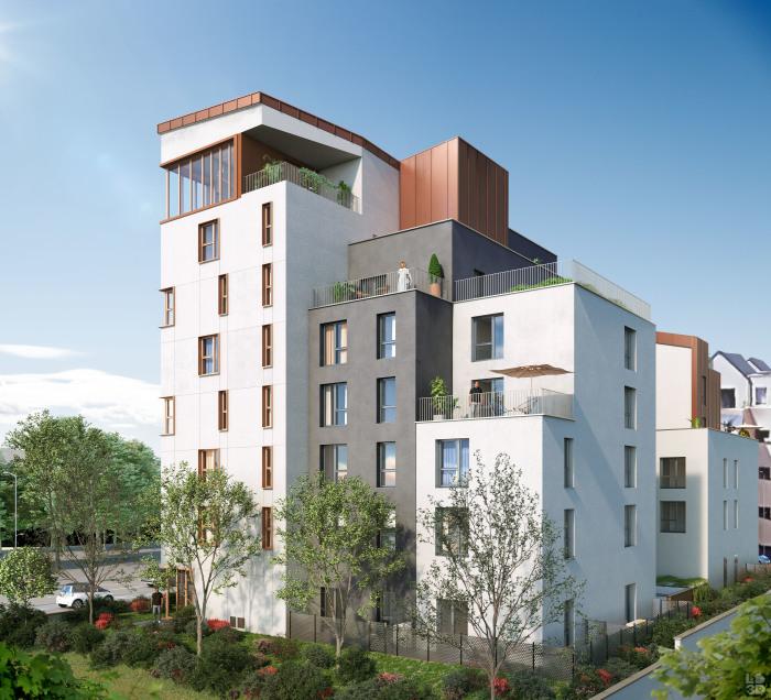 Appartements neufs Jeanne d'Arc - Longs-Champs - Atalante Beaulieu référence 5125 : aperçu n°0