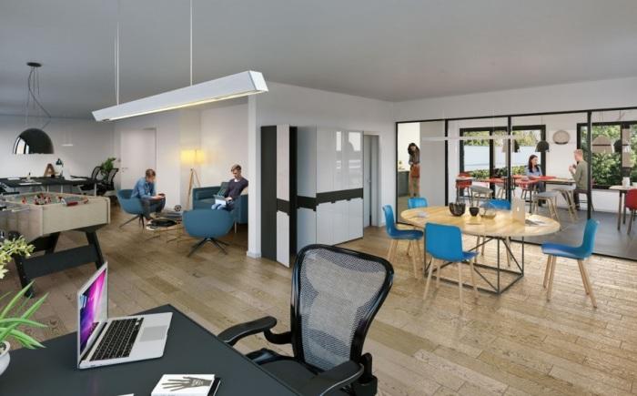 Appartements neufs Jeanne d'Arc - Longs-Champs - Atalante Beaulieu référence 5125 : aperçu n°1