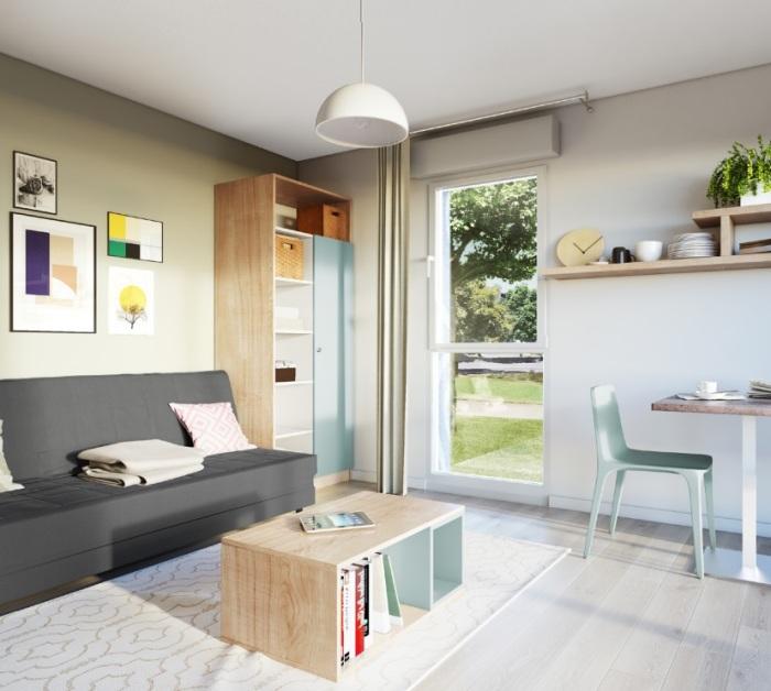 Appartements neufs Jeanne d'Arc - Longs-Champs - Atalante Beaulieu référence 5125 : aperçu n°2