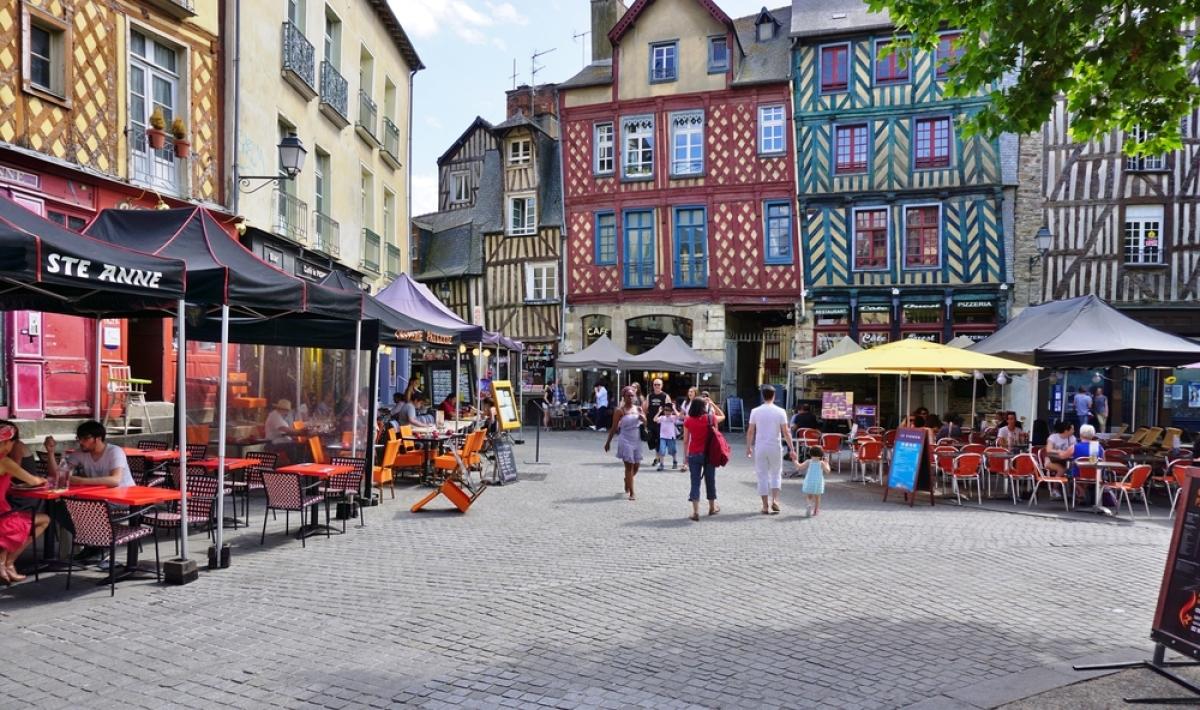 Coeur historique de Rennes - quartiers sécurité Rennes