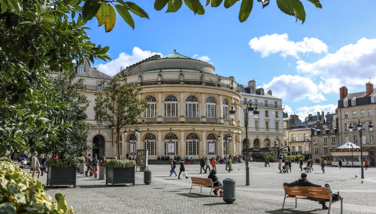 Opéra de Rennes - quartiers sécurité Rennes