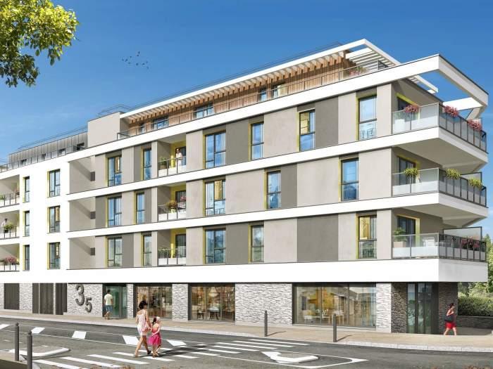 Appartements neufs Thorigné-Fouillard référence 5203 : aperçu n°0
