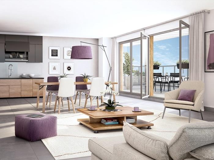Appartements neufs Thorigné-Fouillard référence 5203 : aperçu n°1