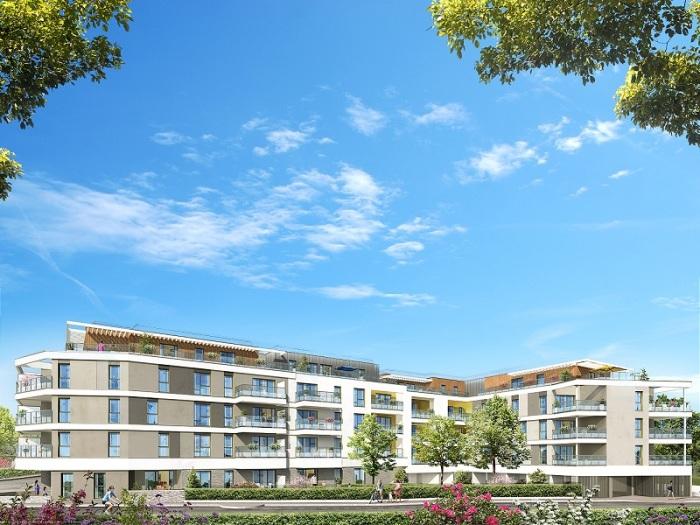 Appartements neufs Thorigné-Fouillard référence 5203 : aperçu n°2
