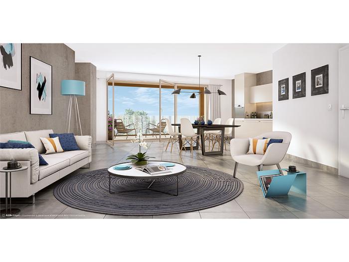 Appartements neufs Cesson-Sévigné référence 5201 : aperçu n°1
