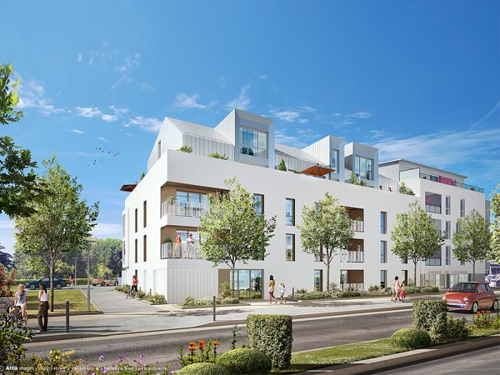 Appartements neufs Cesson-Sévigné référence 5201 : aperçu n°2
