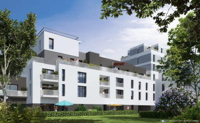 Appartements neufs Bourg-l'Évesque - la Touche - Moulin du Comte référence 4378 : aperçu n°0