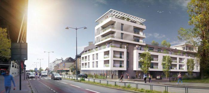 Appartements neufs Bourg-l'Évesque - la Touche - Moulin du Comte référence 4378 : aperçu n°2