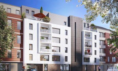 Appartements neufs Cleunay - Arsenal - Redon référence 5254