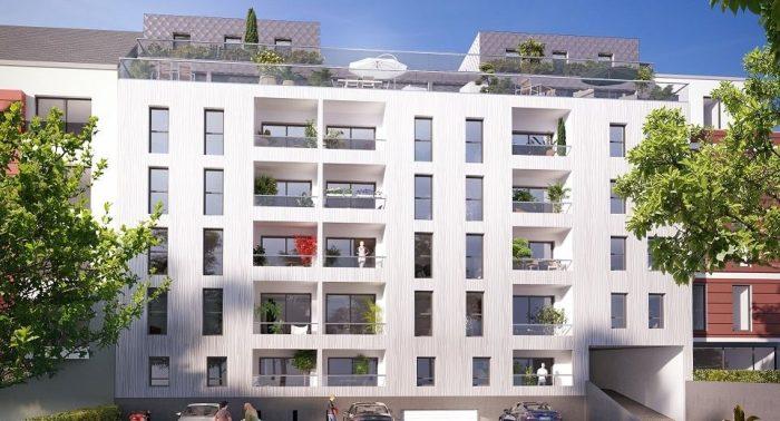 Appartements neufs Cleunay - Arsenal - Redon référence 5254 : aperçu n°2