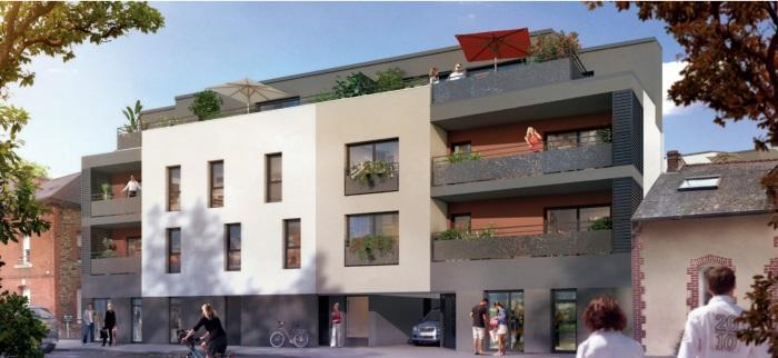 Appartements neufs Vern-sur-Seiche référence 5255 : aperçu n°0