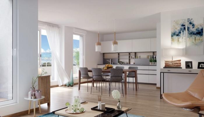 Appartements neufs Vern-sur-Seiche référence 5255 : aperçu n°1