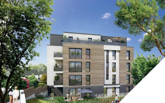 Appartements neufs Vern-sur-Seiche référence 5255 : aperçu n°2